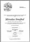 Smutná zpráva - Miroslav Smejkal č.1