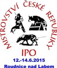 Mistrovství ČR IPO 12.-14.6.2015 Roudnice nad Labem