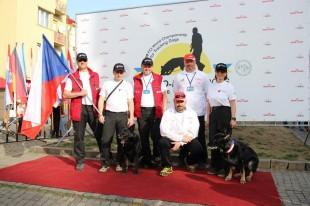 Reprezentace ČR na MS FCI IPO-FH 2016 Mukachevo, Ukrajina